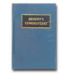 Commentary - DeHoff - Vol 3 - Job, Psalms, Proverbs, Ecc., Song Solomon