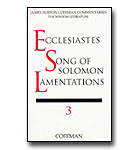 Coffman Commentary - 17 - Ecclesiastes, Song Of Solomon, Lamentations