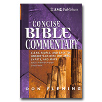 Commentary The Amg Concise Bible Commentary