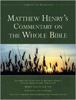 Commentary Matthew Henry's Commentary On The Whole Bible: Complete And Unabridd