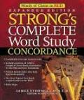 Strong's Complete Word Study Concordance with CD-ROM