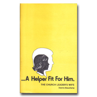 Helper Fit For Him - The Church Leader's Wife