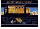 Solomon's Temple Cutaway - Wall Chart - Laminated