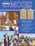Abeka - Flash-a-Card - Life Of Moses - Series 3 - Journey Through The Wilderness