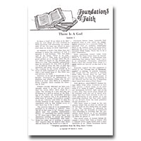 Foundations Of Faith - Correspondence Course (Hawley)