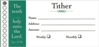Envelope - Tither - 100 Pack